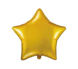 """Folinis balionas """"Aukso žvaigždė"""" (48 cm)"""