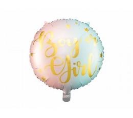 """Folinis balionas """"Boy or Girl"""" (35 cm)"""