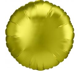 """Folinis balionas """"Citrininis apskritimas"""", matinis (43 cm)"""
