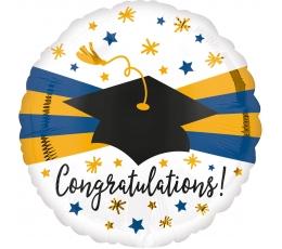 """Folinis balionas """"Congratulations"""" (43 cm)"""