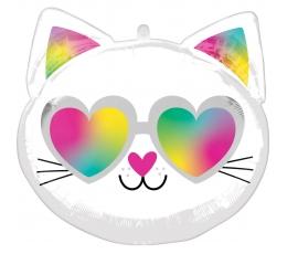 "Folinis balionas ""Cool Kitty"" (43x43 cm)"