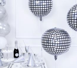 """Folinis balionas """"Disco ball"""" (40 cm) 1"""