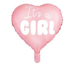 Folinis balionas ''It's a girl'' (45 cm)