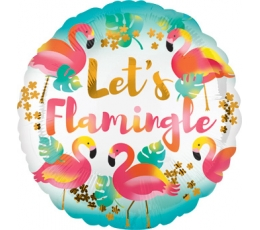 "Folinis balionas ""Let's flamingle"" (43 cm)"