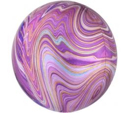 Folinis balionas-marblez, violetinis (38x40cm)