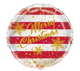 "Folinis balionas ""Merry Christmas"" (45 cm)"