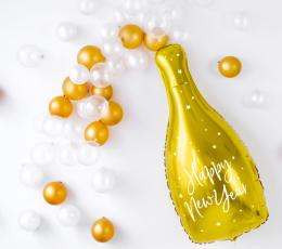 """Folinis balionas """"Naujųjų Metų šampanas"""" (32x82 cm) 1"""
