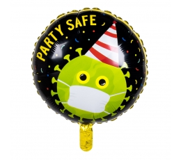 "Folinis balionas ""Party safe"" (45 cm)"