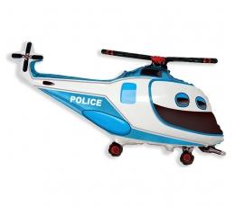 """Folinis balionas """"Policijos sraigtasparnis"""" (60 cm)"""