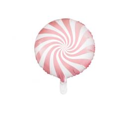 """Folinis balionas """"Rausvas ledinukas"""" (45 cm)"""