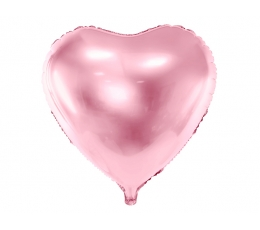 """Folinis balionas """"Rožinė širdis"""" (45 cm)"""