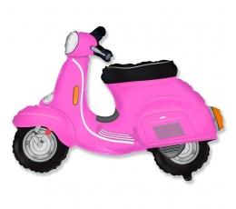 """Folinis balionas """"Rožinis motoroleris"""" (60 cm)"""
