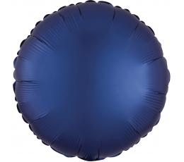 """Folinis balionas """"Tamsiai mėlynas apskritimas"""", matinis(43 cm)"""
