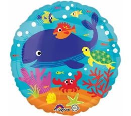 "Folinis balionas ""Under the Sea"" (43 cm)"