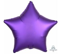 """Folinis balionas """"Violetinė žvaigždė"""" (43 cm)"""