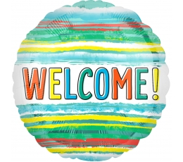 "Folinis balionas ""Welcome"" (43 cm)"