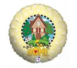 """Folinis balionas """"Welcome home"""" (46 cm)"""