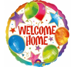 "Folinis balionas ""Welcome home balloons"" (43 cm)"