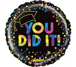 "Folinis balionas '""You did it!"" (53 cm)"