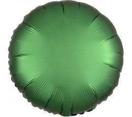 """Folinis balionas """"Žalias apskritimas"""", matinis (43 cm)"""