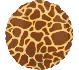 """Folinis balionas """"Žirafos raštai"""" (43 cm)"""