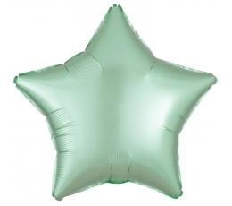 Folinis balionas-žvaigždė, mėtinis matinis (43 cm)