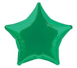 Folinis balionas-žvaigždė, tamsiai žalias (48 cm)