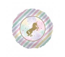 """Folinis balionas """"Žvilgantis vienaragis"""" (45,7 cm)"""