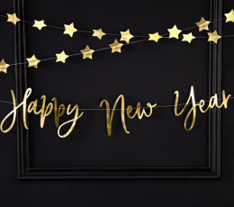 "Forminė  girlianda ""Happy New Year"" (66 x 18 cm) 1"