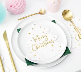 "Forminės servetėlės ""Merry Christmas"" (20 vnt.) 1"