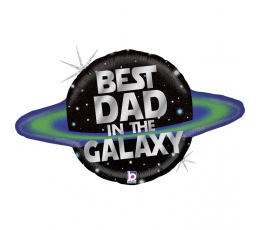 """Forminis balionas """"Best Dad in the Galaxy"""" (79 cm)"""