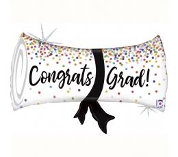"""Forminis balionas """"Congrats, Grad!"""" (79 cm)"""