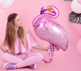 "Forminis balionas ""Flamingas"" (70x121 cm) 1"