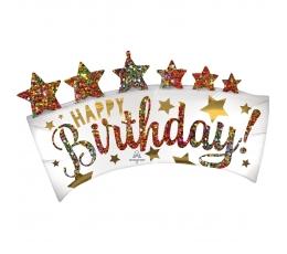 """Forminis balionas """"Karališkas gimtadienis"""" (86x48cm)"""