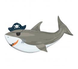 "Forminis balionas ""Shark"" (104x58 cm)"
