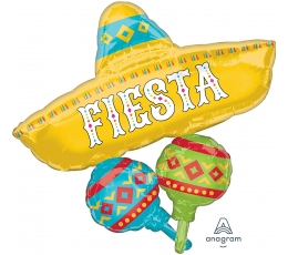 "Forminis folinis balionas ""Fiesta"" (78x81 cm)"