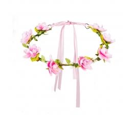 Gėlių vainikėlis, rožinis