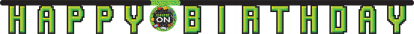 """Girlianda """"Kompiuteriniai žaidimai.Happy Birthday"""" (1,9 m)"""