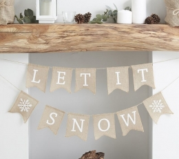 "Girlianda ""Let it snow"" 1"