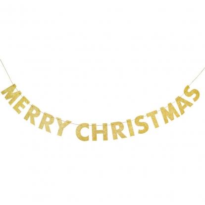 """Girlianda """"Merry Christmas"""", blizgi (2,74 m)"""