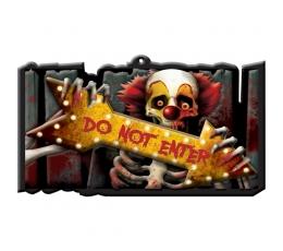 "Helovino ženklas ""Do not enter"""