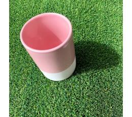 (NUOMA) Indelis-vazelė, baltai rožinis