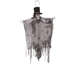 """Interaktyvi kabanti dekoracija """"Jaunikis- kaukolė"""" (1,20 m)"""