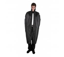 Juodas apsiaustas, ilgas (127 cm)