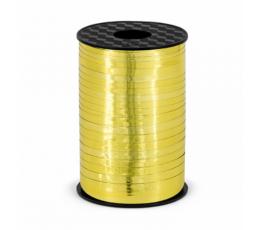 Plastikinė juostelė, auksinė blizgi (5 mm/225 m)