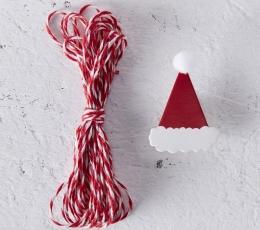 """Juostelė su mediniais segtukais """"Kalėdos"""" (3 m) 1"""