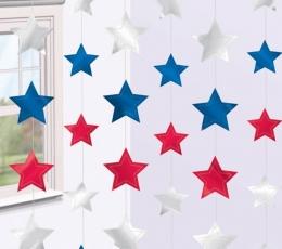 """Kabančios dekoracijos """"Americano"""" (6 vnt./2,13 m) 1"""