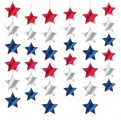 """Kabančios dekoracijos """"Americano"""" (6 vnt./2,13 m)"""