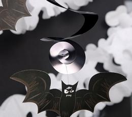 """Kabančios dekoracijos """"Šikšnosparniai ir kaukolės"""" (5 vnt.) 1"""