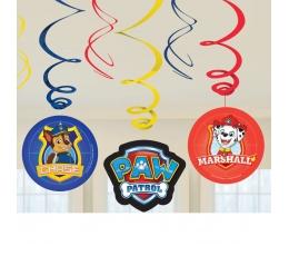 """Kabančios dekoracijos """"Šuniukai patruliai"""" (6 vnt.)"""
